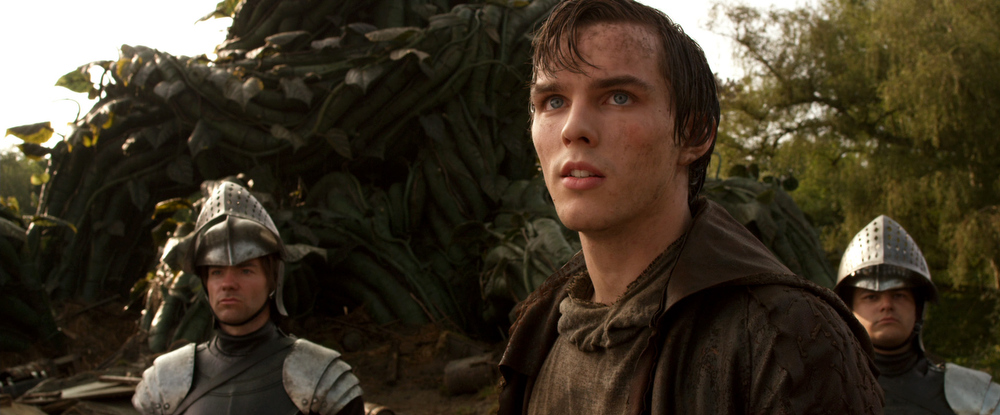 ". This film image released by Warner Bros. Pictures shows Nicholas Hoult in a scene from ""Jack the Giant Slayer.\"" (AP Photo/Warner Bros. Pictures)"
