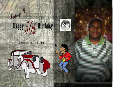 Ellis Wimbush *50th Birthday*