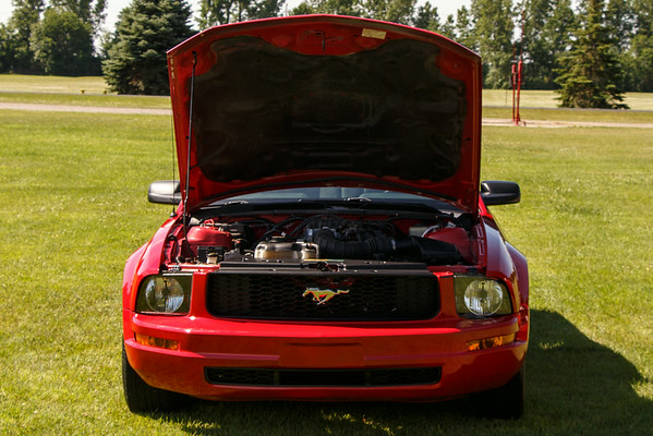 My 2007 Race Red Mustang