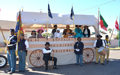 November 12, 2012   East Valley Veterans Parade.