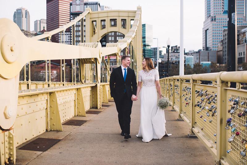 Pittsburgh Elopement Photographer - Monaco Bridge Downtown - Hadley-204.jpg