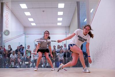 2012-02-25 Kelly Whelan (Virginia) and Carolyn Meister (Georgetown)