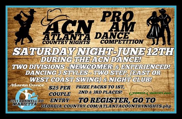 Atlanta Country Nights ProAm 06.12.2021