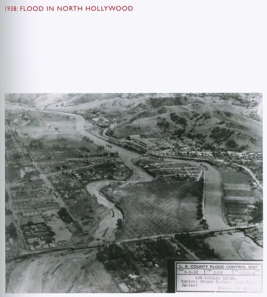 1938, North Hollywood Flood