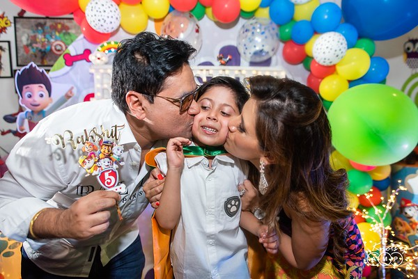 Rakshit's Birthday Party