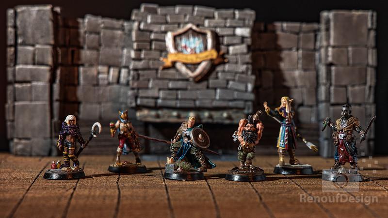 Miniature Figures - 3D Fantasy figures