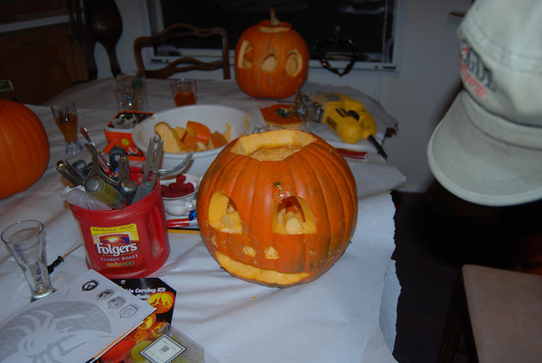 2009 - Pumpkin Carving