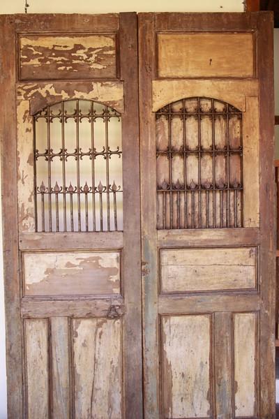 Old Colonial doors in Grenada