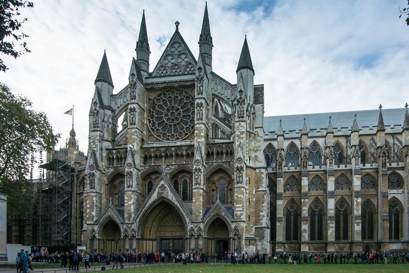 Monday, September 26 - Westminster Abbey