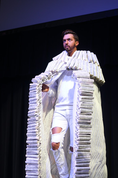 As a part of the GWU Distinguished Artists Series, Stephanie Lael Barrick hosts the Bible App fashion show, showcasing her own designs, on February 3, 2020 at 7 p.m. in the Tucker Student Center.