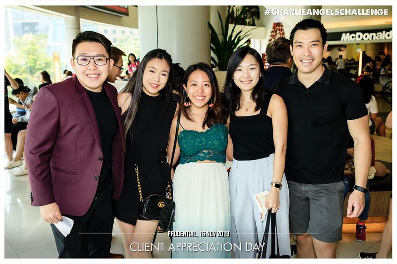 Prudential Client Appreciation   © www.SRSLYPhotobooth.sg