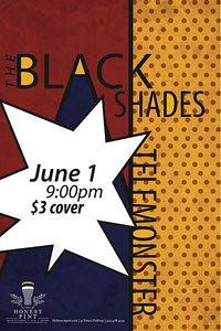 The Black Shades w/ Telemonster @ The Honest Pint 06-01-11