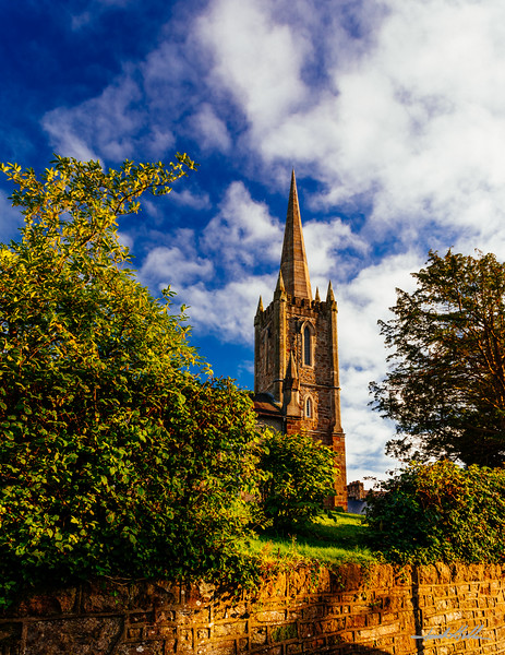 Early evening light on Church of Ireland, Donegal Parish