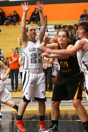 Lady Foxes Basketball vs CVHS
