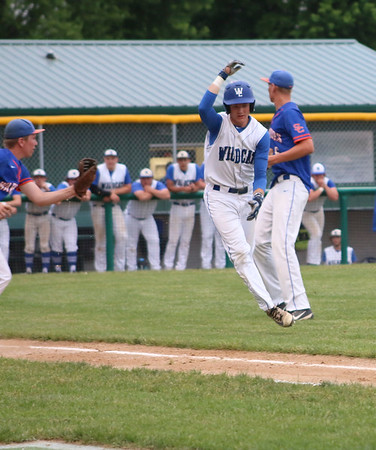 West Lyon baseball versus SIoux Center 6-19-19