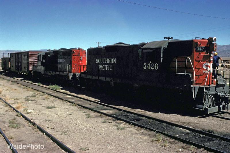 Mina, Nevada 1980