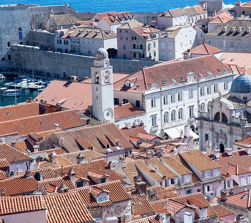 Dubrovnik, Croatia :  The Walled City.