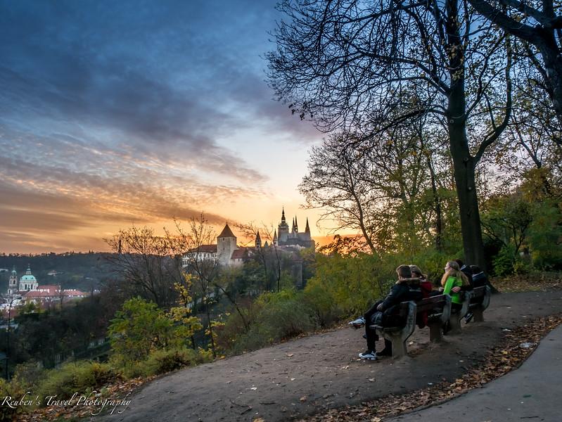 HDR Prague castle lookout couples.jpg