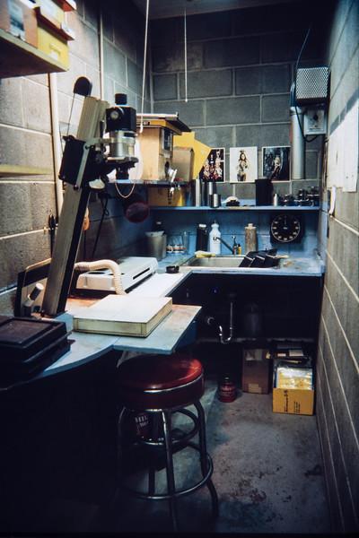 Tri-County Press production shop, Polo, Illinois, 1985