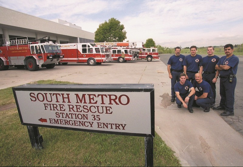 Red 1, Heavy Rescue 35, Tower 35, Engine 35