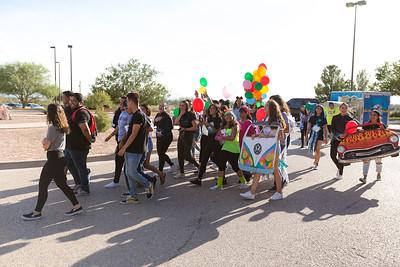 MECHS Homecoming Pep Rally