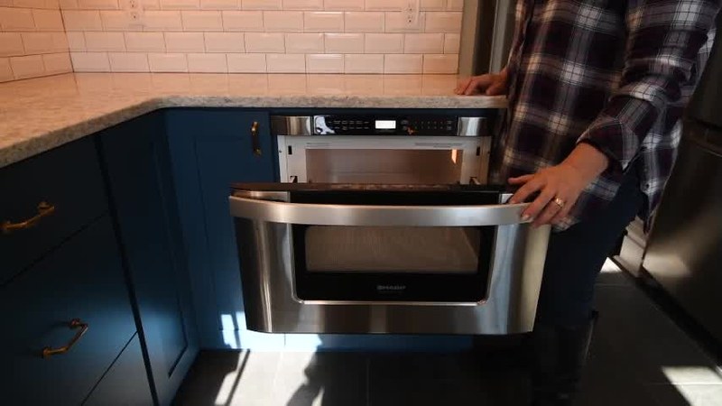 Next Project Studio - Microwave Drawer