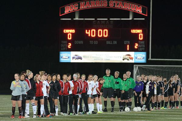 11-10-2015  Camas vs Lake Stevens - Playoff -