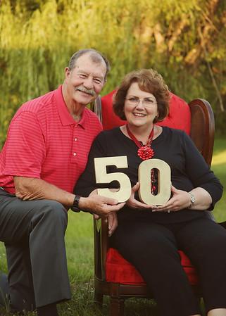 Celebrating 50 years of love! <3