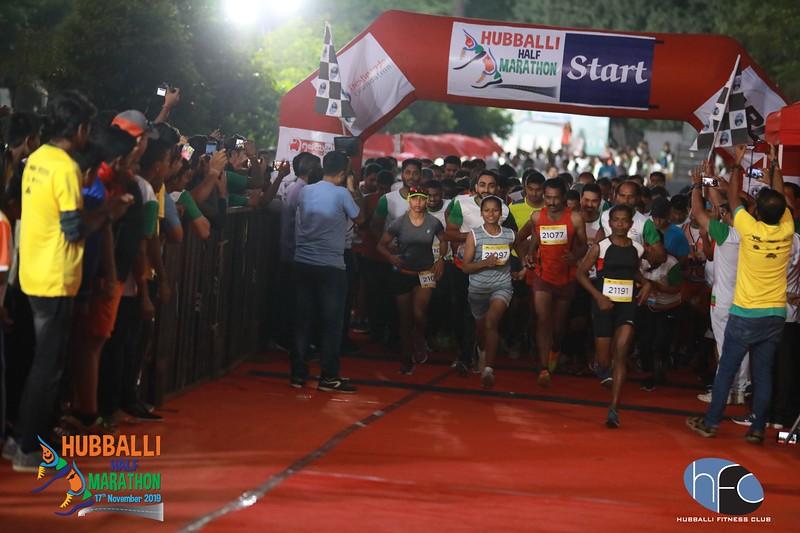 Hubballi Half Marathon 2019 - Untagged