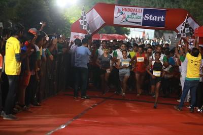 Hubballi Half Marathon 2019