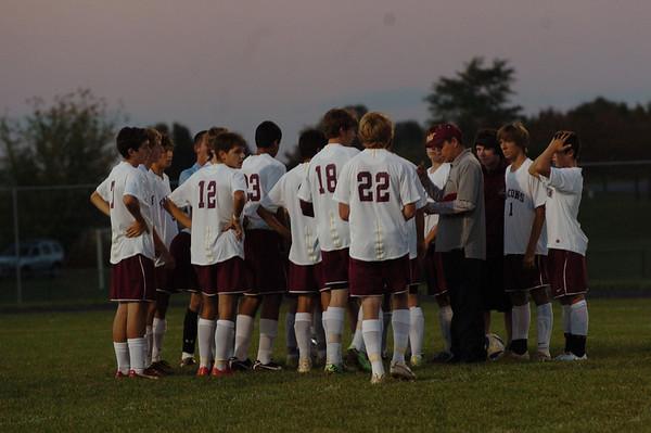 WM Boys Soccer vs South Carroll