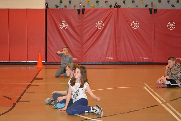 5th Grade after school dodge ball