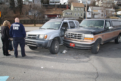 Two Vehicle Accident, SR309, N. Railrad St, Tamaqua (1-19-2012)