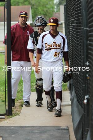 Deer Park Varsity Baseball vs Dulles 5/18/2013