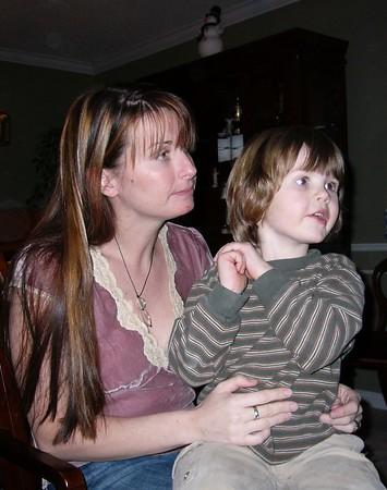 Christmas 2004 at Sarah and John's