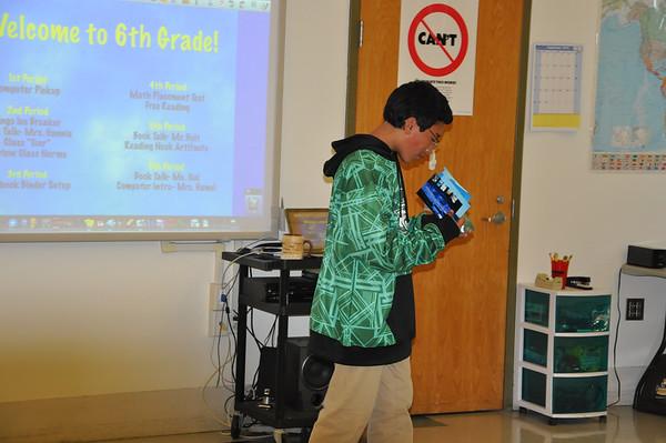 Sixth Grade Artifact Presentations!