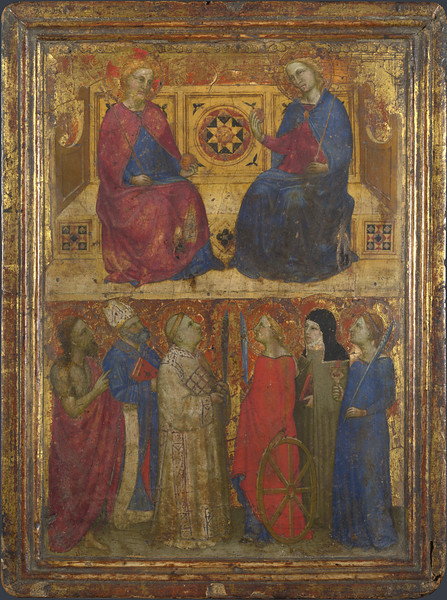 Christ and the Virgin with Saints