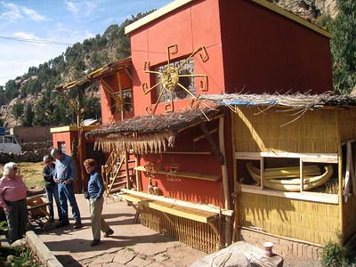 Peru Puno City -  Sillustani Ruins