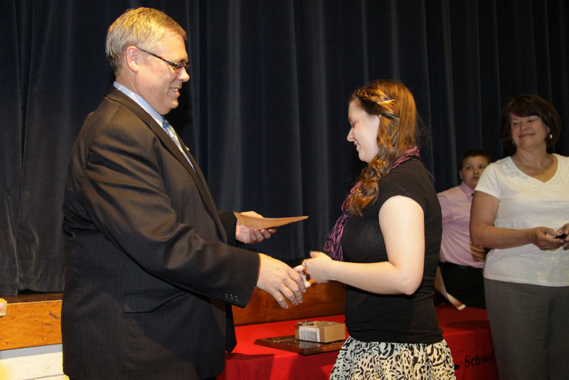 Awards Night 2012 - Student of the Year: Science Interactions 2