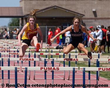 2017 Chandler City Girls 100m Hurdles