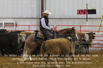 Sask Cutting Horse Assoc. 2018