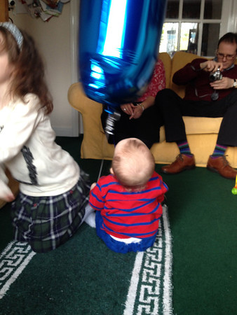 Grayson's 1st Birthday Party
