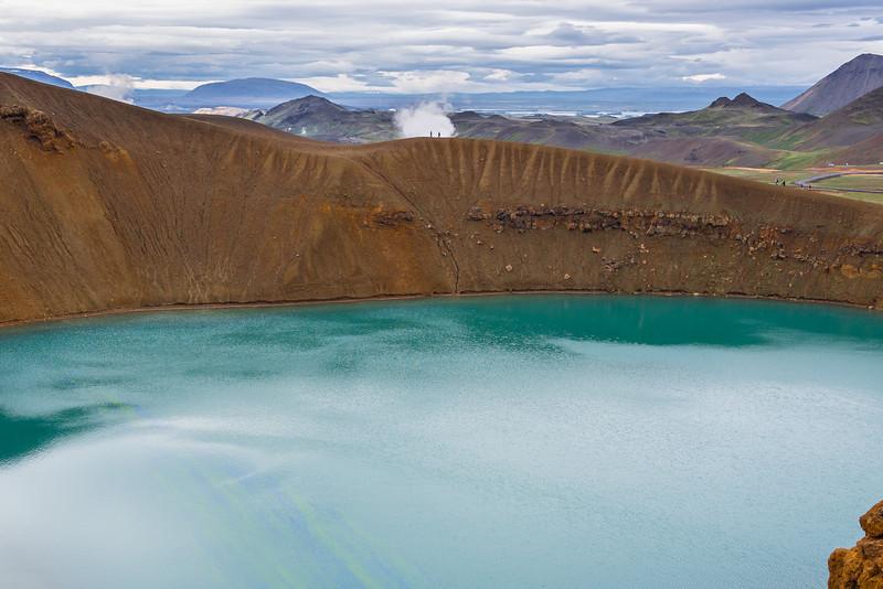 Krafla Volcanic Area - Viti crater