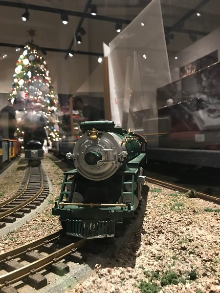 Breton Village Train at Ford Museum - 12/27/19