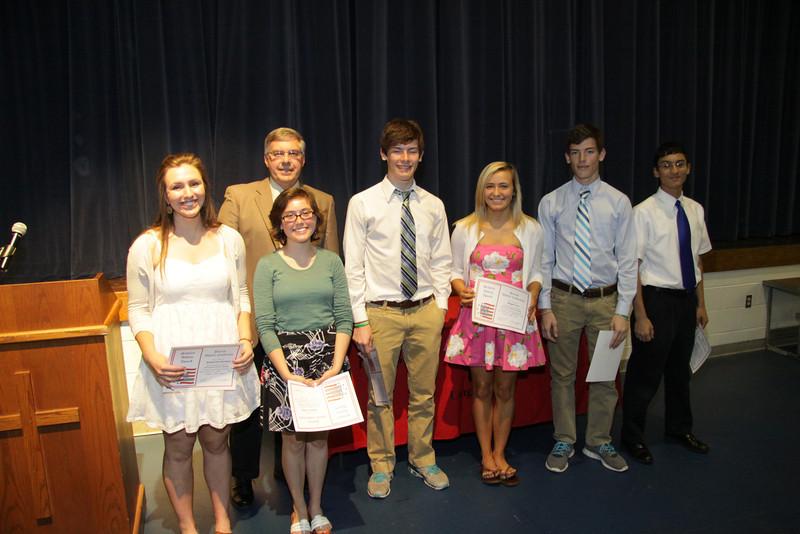 Awards Night 2012 - Patriot Athletic Conference Scholar Athletes