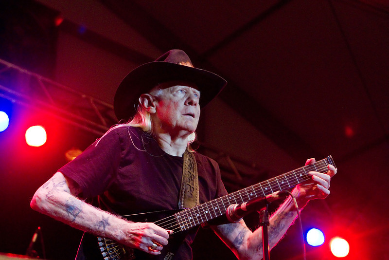 Johnny Winter - Newport Yachting Center August 10, 2012