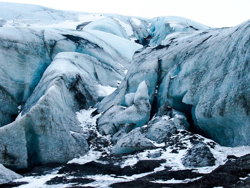 Mýrdalsjökull glacier in Iceland