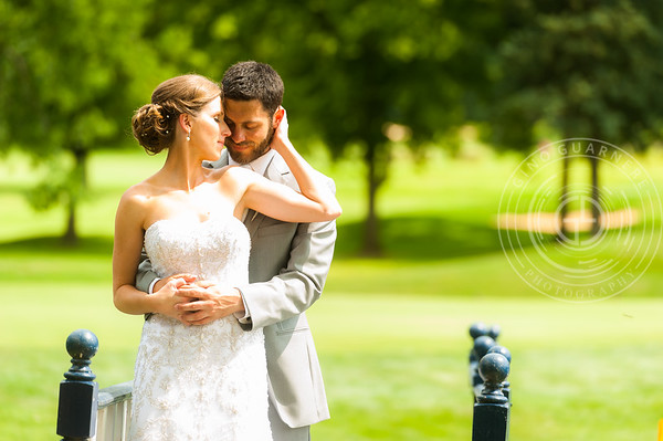 Matt and Nicole, Downingtown Country Club by Gino Guarnere