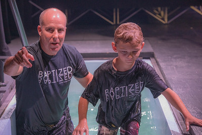 2019-08-25 5 p.m. Baptism Service