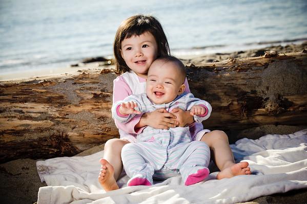 Ng Family (Family Photography, Capitola Beach, California)